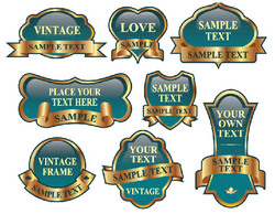 Ornaments,Signs & Symbols,Vintage