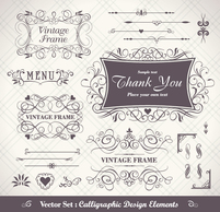 Flourishes & Swirls,Ornaments,Business,Vintage