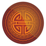 chinese,circle,oriental,vector icon