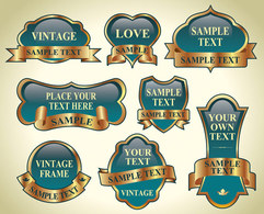 Elements,Ornaments,Business,Banners,Vintage