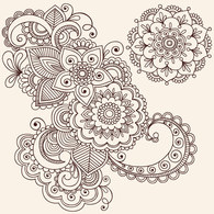 Flourishes & Swirls,Ornaments,Abstract,Flowers & Trees