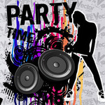 illustration,grunge,template,party,nigh,life,abstract,retro,speaker,woman,lady,girl,people,silhouette,splat,paint,artwork,element,dance,music,music party,animals,backgrounds & banners,buildings,celebrations & holidays,christmas,decorative & floral,design elements,fantasy,food,grunge & splatters,map