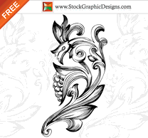 Flourishes & Swirls,Ornaments,Flowers & Trees,Nature