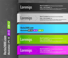 Web Elements,Elements,Banners,Abstract