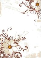 Flourishes & Swirls,Flowers & Trees,Backgrounds