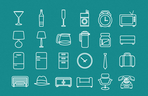 Miscellaneous,Vintage,Icons,Business,Objects