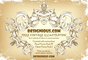 Banners,Flourishes & Swirls,Flowers & Trees,Vintage,Ornaments