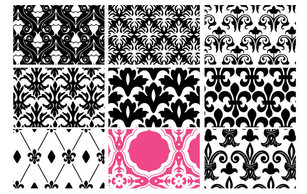 Patterns,Flourishes & Swirls,Ornaments,Backgrounds,Elements