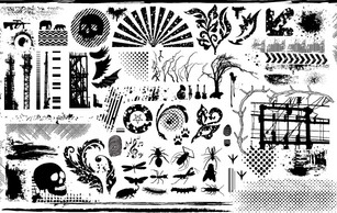 Objects,Flowers & Trees,Ornaments,Animals,Military,Flourishes & Swirls,Business,Silhouette
