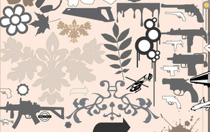 Icons,Ornaments,Flourishes & Swirls,Flowers & Trees,Military,Patterns,Shapes,Transportation