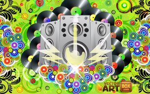 Music,Backgrounds,Shapes,Vintage,Flourishes & Swirls,Flowers & Trees,Objects