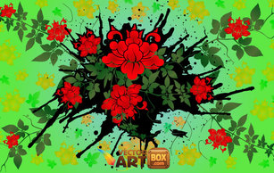 Flourishes & Swirls,Flowers & Trees,Backgrounds,Abstract