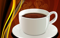abstract,coffee,cup,hot,background,saucer,blend,food,drink,heart,addiction,love