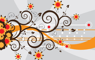 Abstract,Flourishes & Swirls,Flowers & Trees,Backgrounds