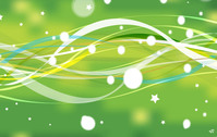abstract,green,nature,lin,star,background,illustration