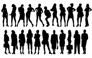 Human,Business,Silhouette