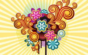Abstract,Backgrounds,Flowers & Trees,Vintage,Flourishes & Swirls