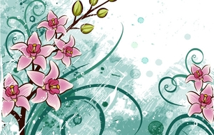 Backgrounds,Flourishes & Swirls,Flowers & Trees,Human