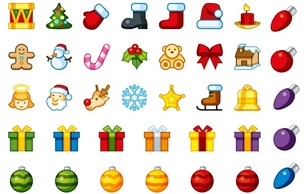 Icons,Business,Holiday & Seasonal,Nature,Objects