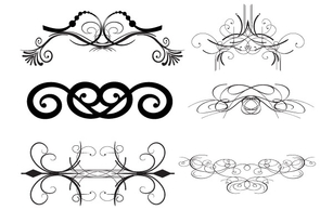 Ornaments,Flourishes & Swirls,Elements