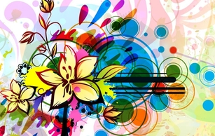 Backgrounds,Flourishes & Swirls,Abstract,Flowers & Trees