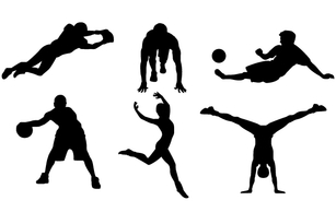Sports,Silhouette