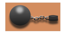 iron,prisoner,ball,chain,cadena,bola,hierro