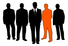 Silhouette,Business,Human