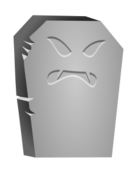 halloween,tomb,stone,tombstone,angry,face,grave,graveyard,spooky,creepy,scary,death,dead,cartoon