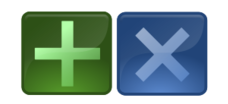 button,cross,plus,positive,negative,glossy,glass,rectangle