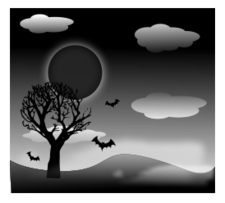Silhouette,Icons,Nature,Holiday & Seasonal