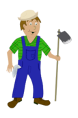 farmer,cartoon,farm,rural,worker,agriculture
