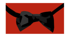 bowtie,bow tie,tie,black,red,colour,color,clothing,clothes,accessory,formal,formal wear,formalwear,accessory