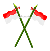 bamboo and indonesian flag 2 free vector download it now bamboo and indonesian flag 2 free