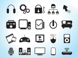 Elements,Icons,Technology